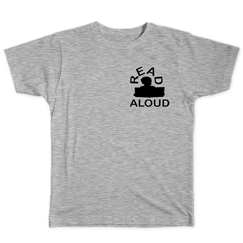 ReadAloud Gray T-Shirt
