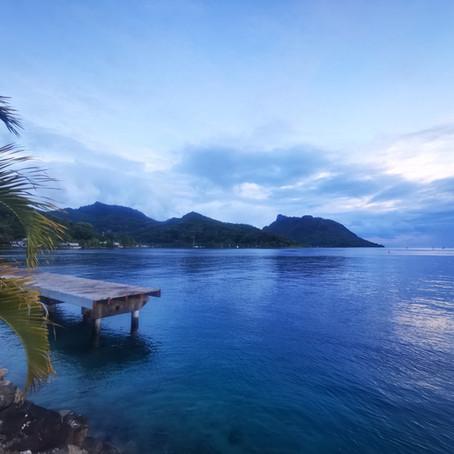 Huahine, île enchanteresse, que c'est dur de te quitter!