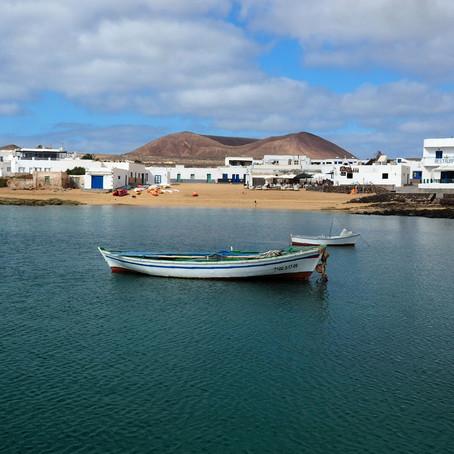 La Graciosa, Lanzarote et préparation de la transatlantique