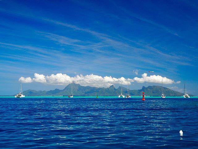 Ia orana ! Nous voilà à Tahiti ! La vue