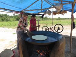 baking cassava bread