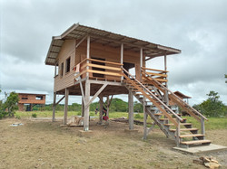 Almost finished!  One of 2 new Guests Cabins in May 2021