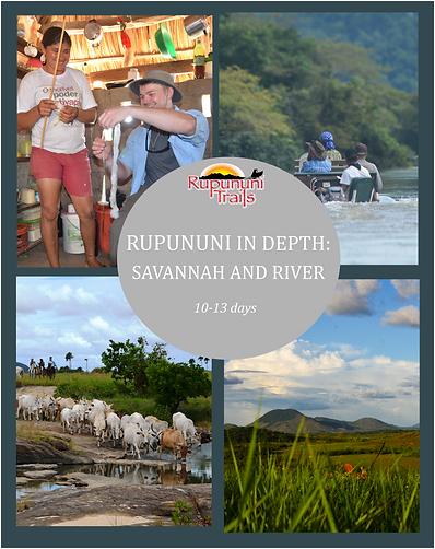 Rupununi in depth - savannah and river.p