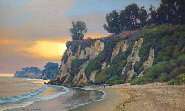 SUNSET ON PARADISE COVE-Malibu, CA 24x40 In. 72 dpi _ 8 inches long side.jpg