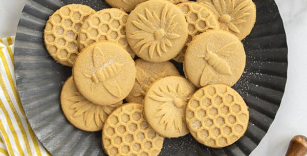 Honey Bees Cookie Stamps