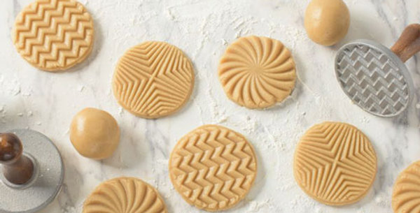 Geo Heirloom Cookie Stamps