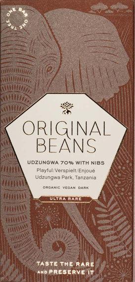 Cru Udzungwa with Nibs 70%
