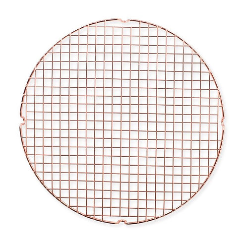 Round Copper Cooling & Serving Grid