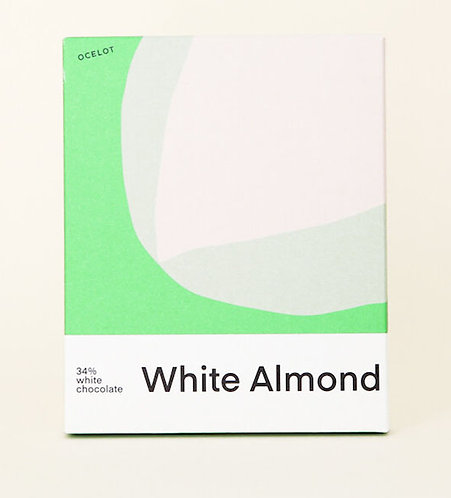 White Almond (34% λευκή σοκολάτα)
