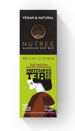 Μπάρα με Matcha & μαύρη σοκολάτα