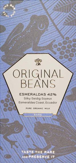 ESMERALDAS MILK WITH FLEUR DE SEL (42%)/milk