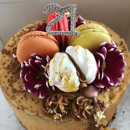 Autumn Colours Celebration Cake
