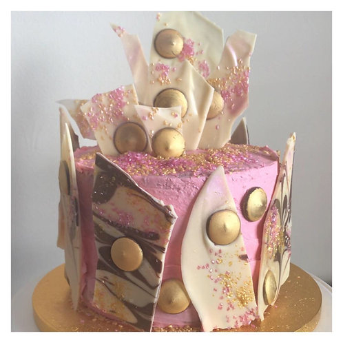 Girly Glitz & Glam Cake