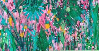 "Dreamy jungle 🌿_24"" x 48"" on canvas.jpg"