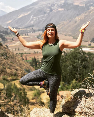 Smiling tree pose 🌲 I am grateful for t