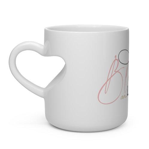 Blended and Loving It Heart Mug
