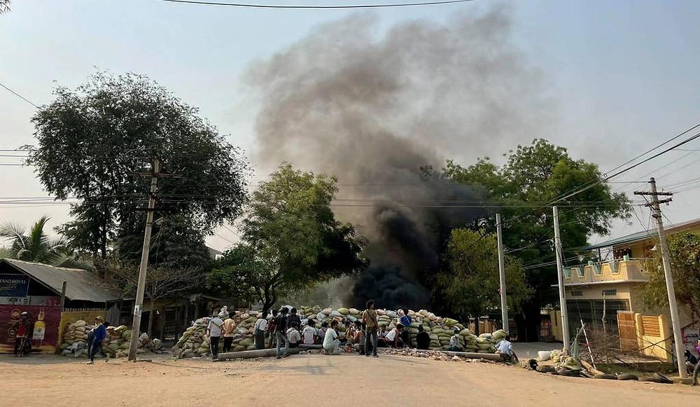myanmar emergency