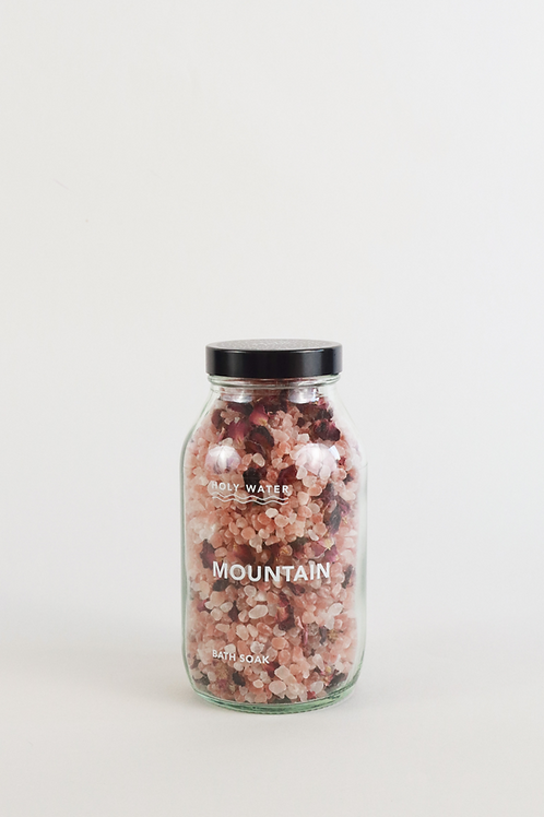 Holy Water Mountain Bath Salts