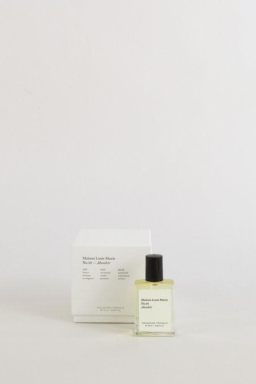 Maison Louis Marie No.02 Le Long Fond Perfume Oil