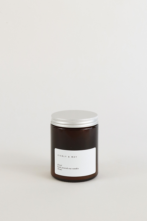 Cicely & May Candle 180ml  - Floral