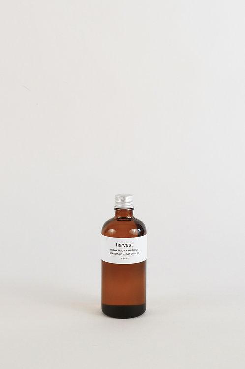 Harvest Relax Bath & Body Oil