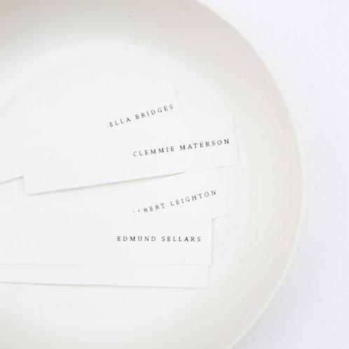 Printed Namecard 1
