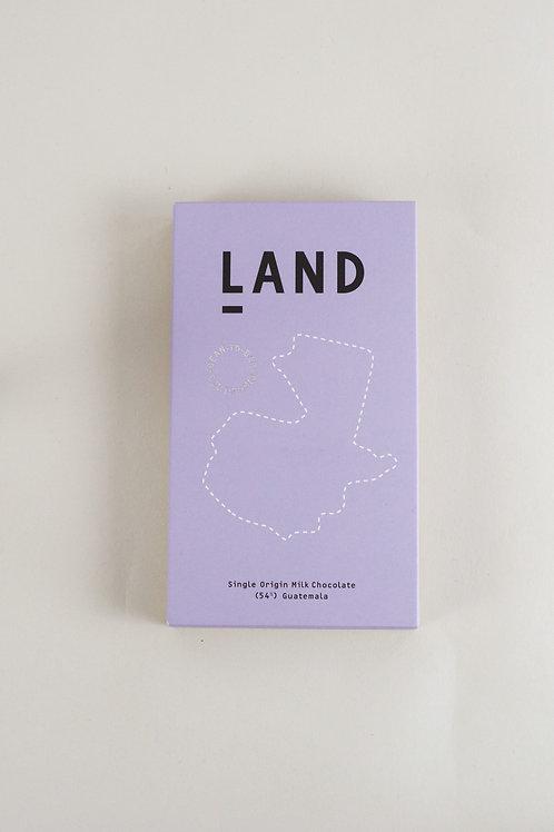 Land 54% Guatemalan Milk Chocolate - 60g Bar