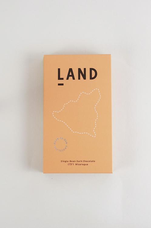 Land 73% Nicaliso Dark Chocolate - 60g Bar