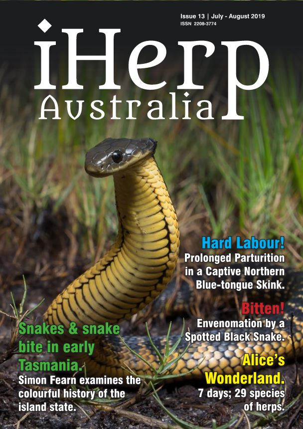 iHerp Australia Issue 13 Cover