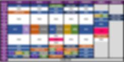 FWA Crossfit (Lille) - Planning Novembre