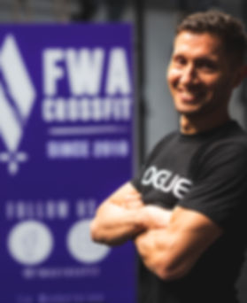 FWA CROSSFIT Coach Rudy Fernane