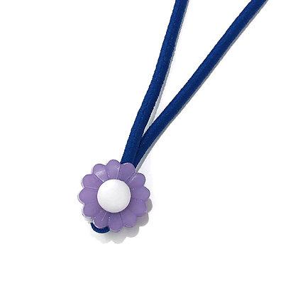 Corrente Kids - Flor Lilás e Azul