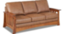 mission-style-sofa-leather-wood-frame.jp