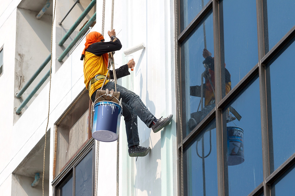 Window washing its a career?