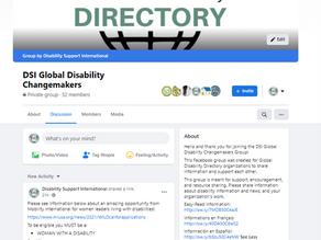 DSI Global Disability Changemakers