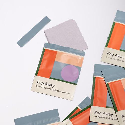 Fog Away | anti-fog cloth