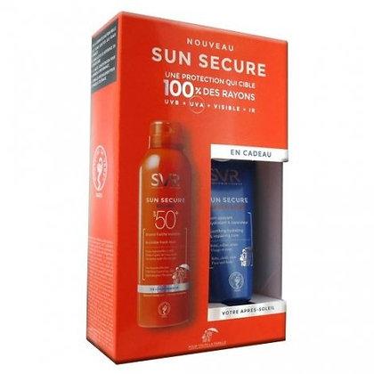 SVR SUN SECURE Coffret brume fraiche SPF50+  + Après Soleil offert