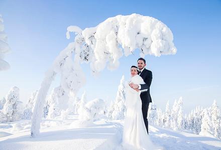 Hääkuvaus Lapissa wedding photography Lapland