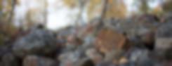 Luontokuva Kaisa Sirén kivirakka