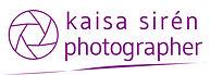 Kaisa Siren Photographer logo