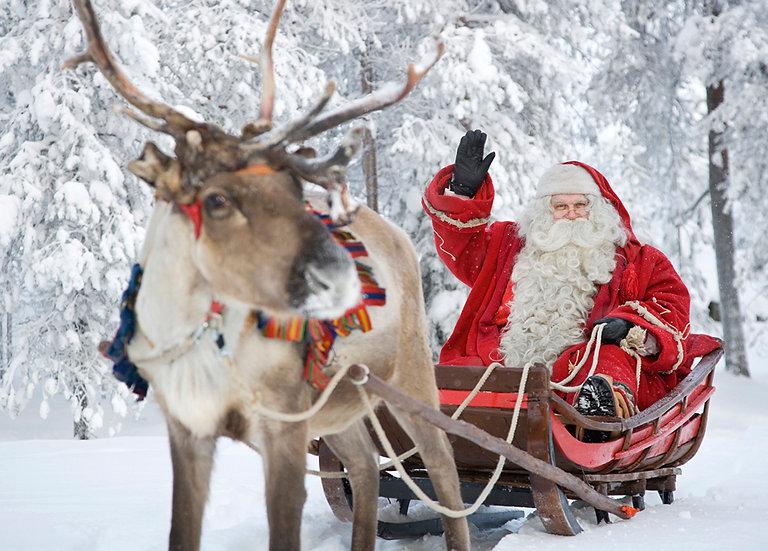 Joulupukin rekiretki | Santa's sleighride