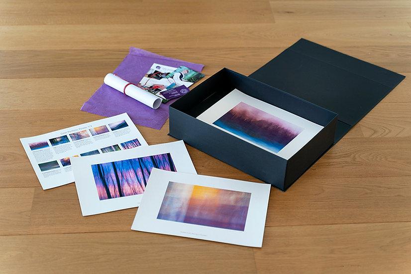Portfoliolaatikko Violetti