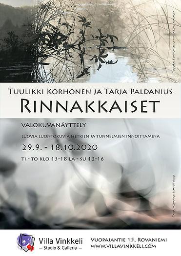 Valokuvanäyttely Rinnakkaiset - Tuulikki Korhonen ja Tarja Paldanius