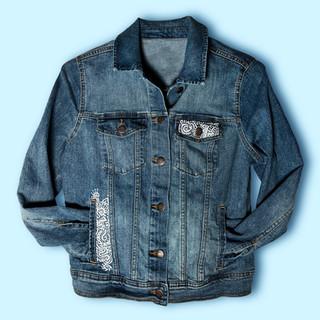 Zentangle Jacket front design