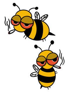 """""""Honey Cones"""" Stoned Bee"""