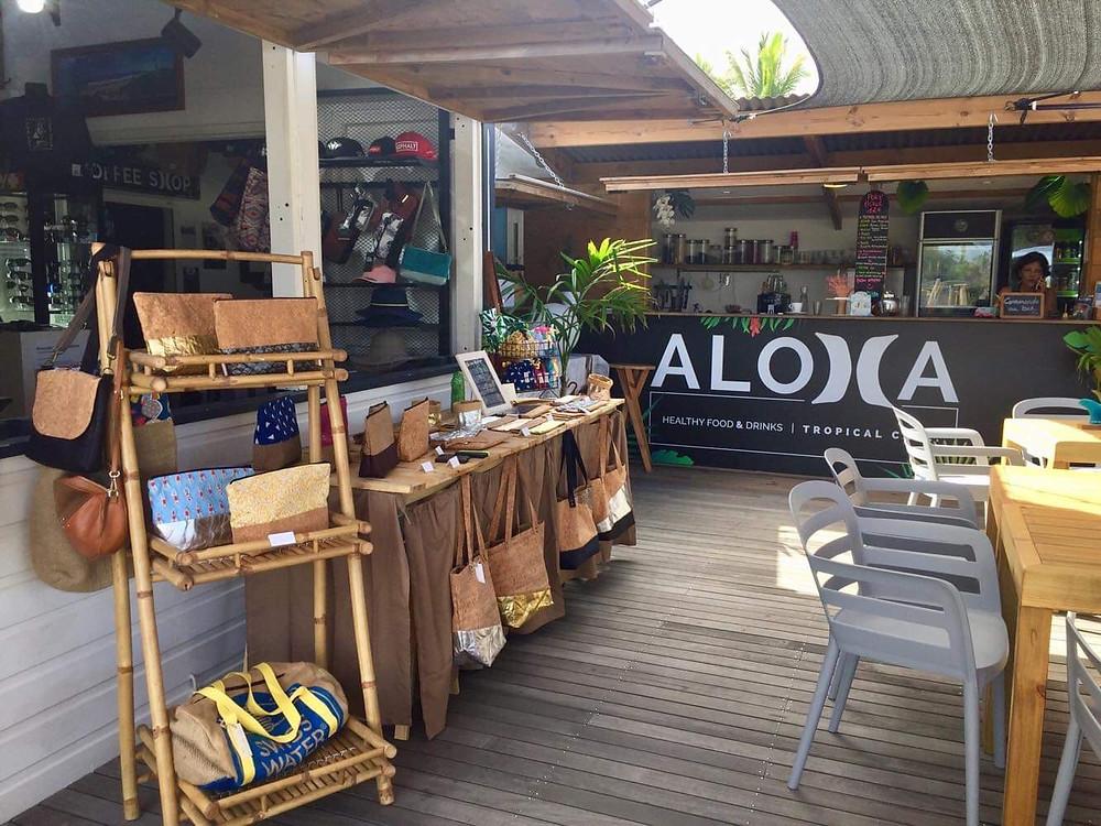 ALOHA Tropical Café / Ventes éphémères / Créatrices locales / Créations faites main / Evènements