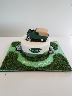 Off roading Excursion Cake