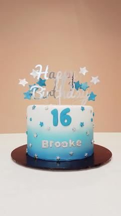 Sweet Sixteen Surprise Cake