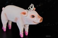 Little Miss Piggy Cake