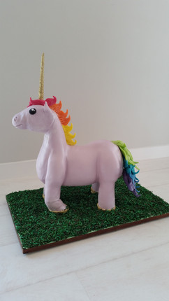 Unicorn Standing Birthday Cake